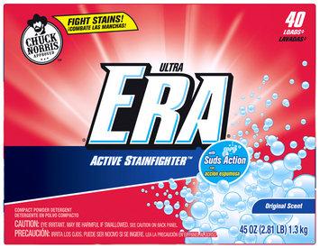 Era Ultra Active Stainfighter Original Powder Laundry Detergent 45 oz. Box