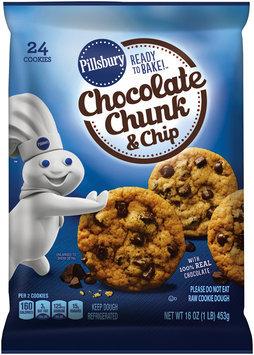 Pillsbury Ready to Bake!™ Chocolate Chunk & Chip Cookies 24 ct Pack