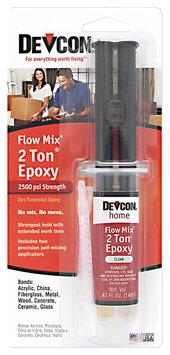 Devcon® Home Flow Mix® 2 Ton® Epoxy 0.47 fl. oz. Syringe