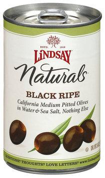 Lindsay Naturals Black Ripe Olives