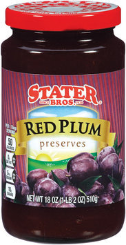 Stater Bros.® Red Plum Preserves 18 oz.