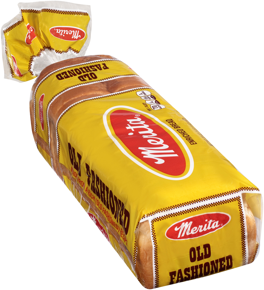 Merita® Old Fashioned Enriched Bread 20 oz. Loaf