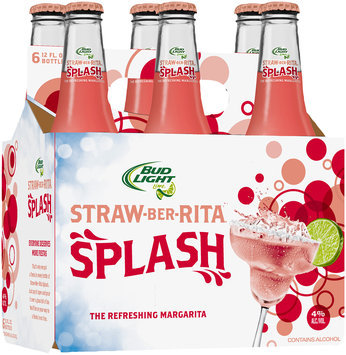 Bud Light Lime Straw-Ber-Rita Splash
