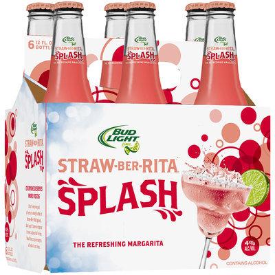 Bud Light Lime Straw-Ber-Rita Splash