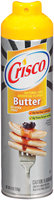 Crisco No-Stick Butter Cooking Spray 6 Oz Aerosol Can