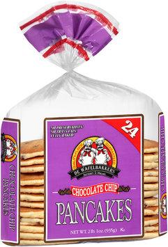 De Wafelbakkers Janssen & Meyer® Chocolate Chip Pancakes 24 ct Bag