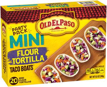 Old El Paso™ Taco Boats™ Flour Tortillas 20 ct Pack