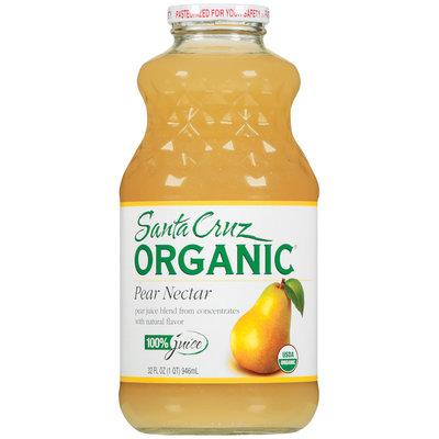Santa Cruz Pear Nectar 100% Juice 32 Oz Glass Bottle
