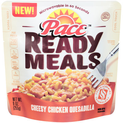 Pace™ Ready Meals Cheesy Chicken Quesadilla 9 oz. Pouch
