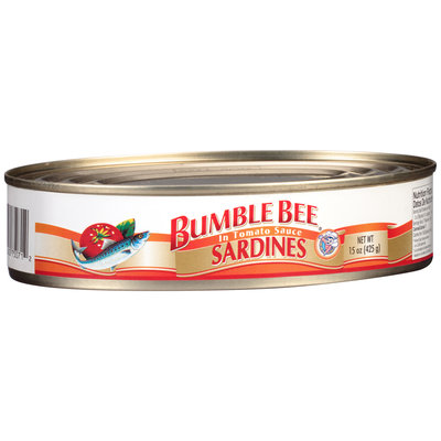 Bumble Bee® Sardines In Tomato Sauce 15 oz. Can