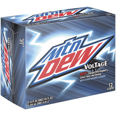 Mountain Dew® Voltage® 12 Pack 12 fl. oz. Cans