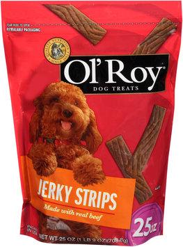ol' roy® jerky strips dog treats
