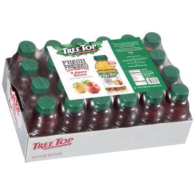 Tree Top® Fresh Pressed 3 Apple Blend Juice 24-10 fl. oz. Bottles