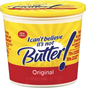 I Can't Believe It's Not Butter! Original Spread 5 Lb Plastic Tub