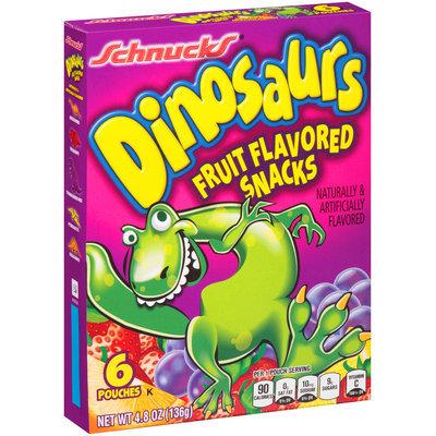 Schnucks® Dinosaurs Fruit Flavored Snacks 4.8 oz. Box