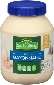 Springfield® Mayonnaise 30 fl. oz. Jar