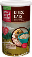 Mom's Best® Cereals Quick Oats 16 oz. Canister
