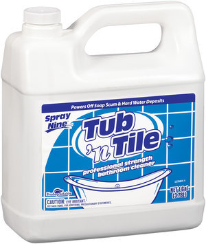 Spray Nine® Tub 'n Tile Professional Strength Bathroom Cleaner 1 gal.