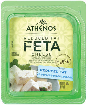 Athenos Reduced Fat Chunk Feta Cheese 6 oz.