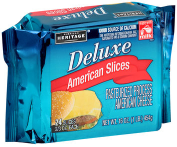 American Heritage® Deluxe American Cheese Slices 2 Pack
