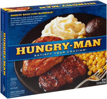 Hungry-Man® Smokin' Backyard Barbeque™ 15.25 oz. Box
