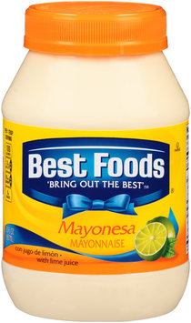Best Foods® Mayonnaise with Lime Juice