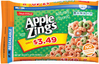 Malt-O-Meal® Apple Zings® Cereal 19.5 oz. Bag