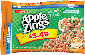 Malt-O-Meal® Apple Zings® Cereal 19.5 oz. Bag