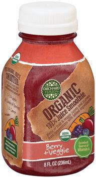 Orchard Fusion™ Organic Berry + Veggie 100% Juice Smoothie 8 fl. oz. Bottle