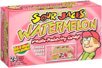 Sour Jacks® Watermelon Mouth-Puckering Candy 24-2 oz. Bags