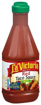 La Victoria® Mild Red Taco Sauce 15 oz. Plastic Bottle