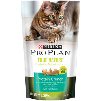 PRO PLAN® TRUE NATURE™ Protein Crunch Cat Snack With Real Turkey