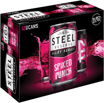 Steel Reserve Alloy Series® Spiked Punch 12-8 oz. Cans