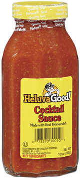 HELUVA GOOD Made With Real Horseradish Cocktail Sauce