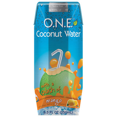 O.N.E.™ Coconut Water Beverage with a Splash of Mango 8.5 fl. oz. Carton