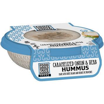 Food Should Taste Good Caramelized Onion & Herb Hummus