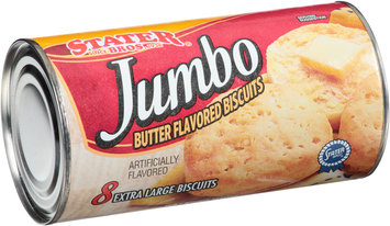 Stater Bros.® Jumbo Butter Flavored Biscuits 8 ct Can