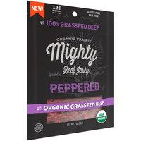 Organic Prairie® Organic Peppered Mighty Beef Jerky™ 2 oz.