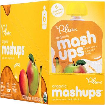 Plum Organics® Mashups™ Tropical Apple Sauce 6-3.17 oz. Pouches