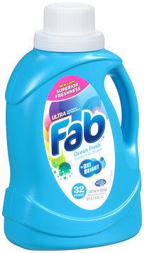 Fab® Ultra Laundry Detergent Ocean Fresh 50 fl. oz. Jug