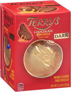 Terry's Dark Chocolate Orange 5.53 oz. Box