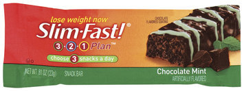 Slim-Fast 3-2-1 Snack Bars Chocolate Mint Snack Bar .81 Oz Wrapper