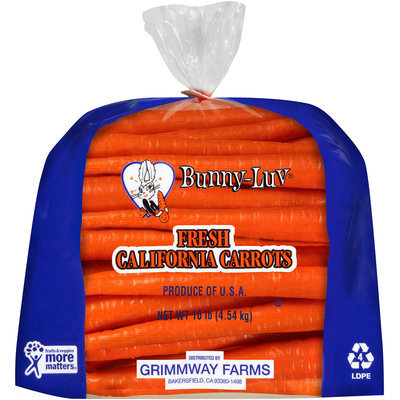 Grimmway Farms® Bunny-Luv® Fresh California Carrots