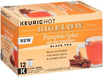 Keurig® Hot Bigelow® Pumpkin Spice Black Tea 12-0.10 oz. Box