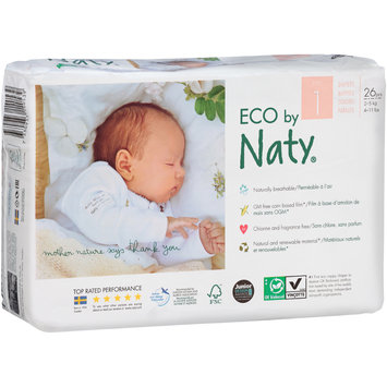 Eco by Naty® Size 1 Diapers 26 ct Pack