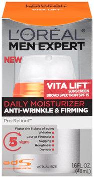 L'Oréal Paris® Men Expert® Vita Lift™ Anti-Wrinkle & Firming Daily Moisturizer with Sunscreen 1.6 fl. oz. Box