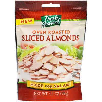 Fresh Gourmet® Oven Roasted Sliced Almonds 3.5 oz.