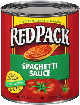 Redpack® Spaghetti Sauce 106 oz.