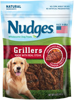 Nudges® Steak Grillers Wholesome Dog Treats