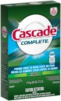 Cascade® Complete™ Powder Dishwasher Detergent, Fresh Scent, 60 Oz